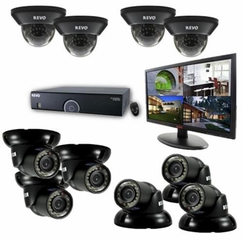 Revo America R165D4Gt6Gm21-4T 16-Channel Surveillance System