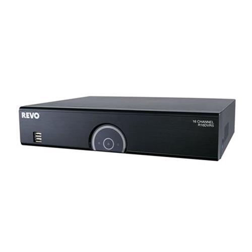 Revo America R16DVR5-2T 16 Channel 2 TB DVR with 12 RJ12 Ports & 4 BNC Ports