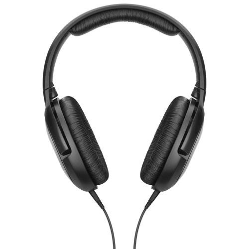 Casque d'écoute à isolation sonore HD 206 de Sennheiser - Noir