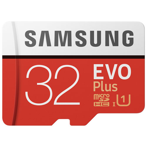 Samsung EVO Plus 32GB 95MB/s microSDHC UHS-1