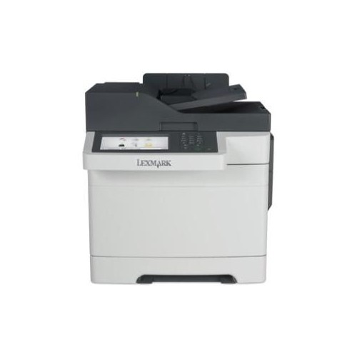 Lexmark CX517de Laser Multifunction Printer - Color - Plain Paper Print - Desktop
