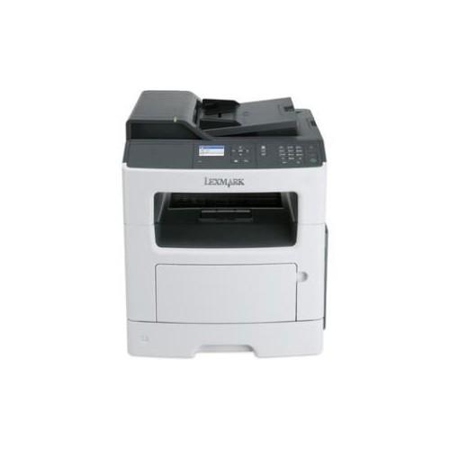 Lexmark MX317dn Laser Multifunction Printer - Monochrome - Plain Paper Print - Desktop