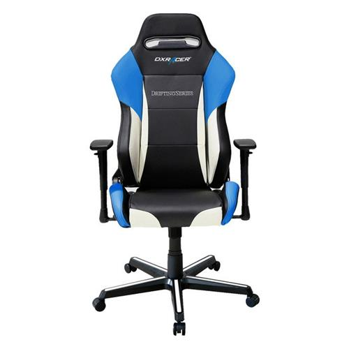 DXRacer Drifting Series OH/DM61/NWB Black, White and Blue Gaming Chair