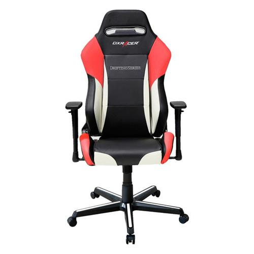 DXRacer Drifting Series OH/DM61/NWR Black, White and Red Gaming Chair