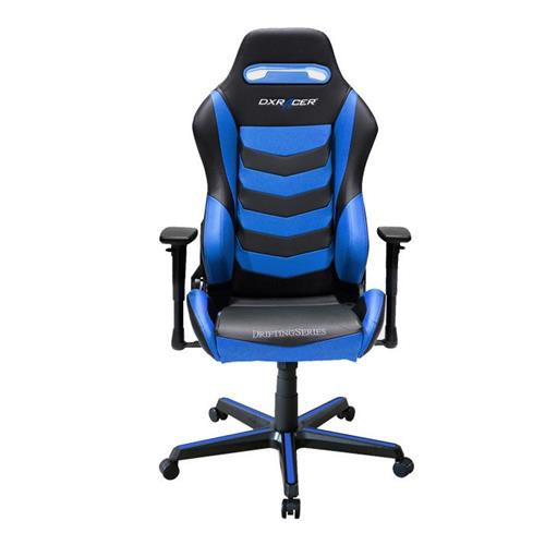 DXRacer Drifting Series OH/DM166/NB Black and Blue Gaming Chair