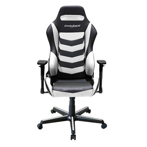 DXRacer Drifting Series OH/DM166/NW Black and White Gaming Chair