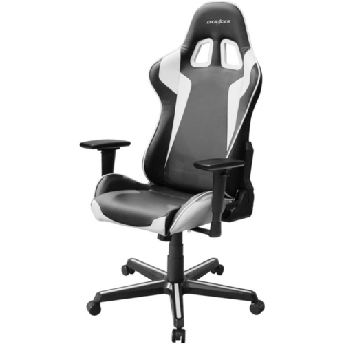 DXRacer Formula Series OH/FH00/NW Black and White Gaming Chair