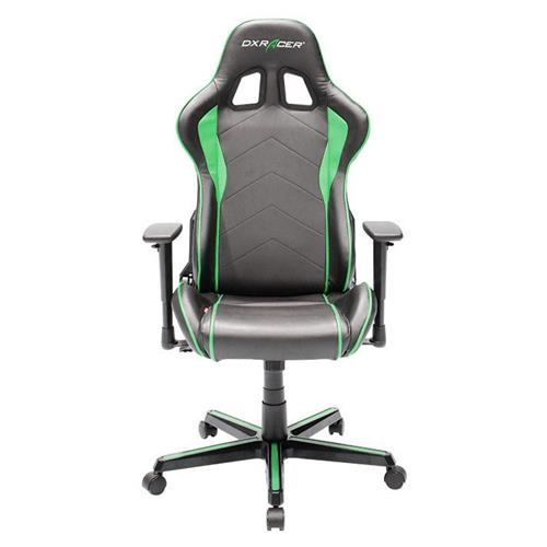 DXRacer Formula Series OH/FH08/NE Black and Green Gaming Chair