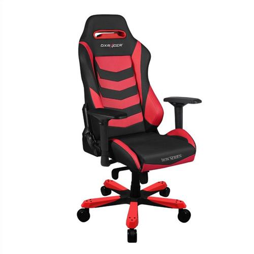 DXRacer Iron Series OH/IS166/NR Black and Red Gaming Chair