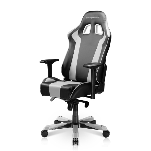 DXRacer King Series OH/KS06/NW Black and White Gaming Chair