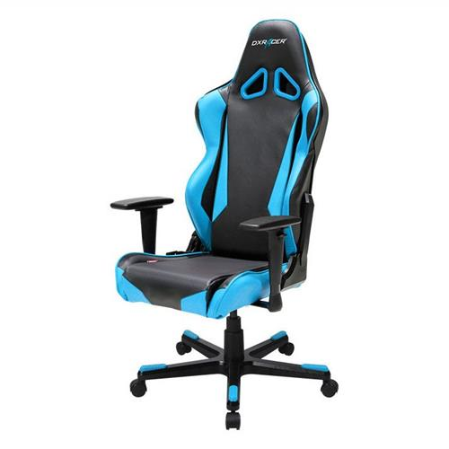 DXRacer Racing Series OH/RB1/NB Black and Blue Gaming Chair