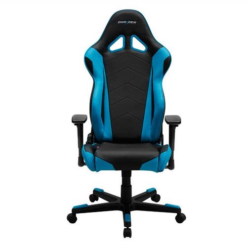 DXRacer Racing Series OH/RE0/NB Black and Blue Gaming Chair
