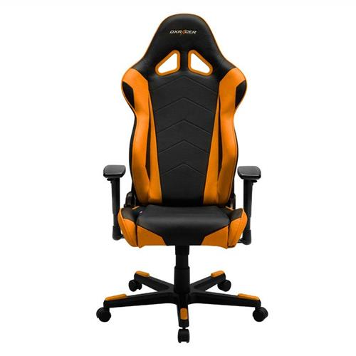 DXRacer Racing Series OH/RE0/NO Black and Orange Gaming Chair
