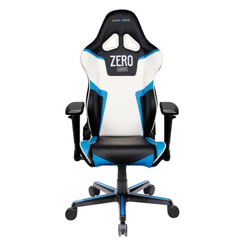 DXRacer Racing Series OH/RV118/NBW Black, Blue and White Gaming Chair