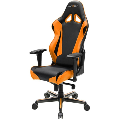 DXRacer Racing Series OH/RV001/NO Black and Orange Gaming Chair