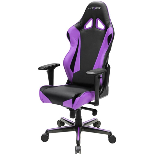 DXRacer Racing Series OH/RV001/NV Black and Violet Gaming Chair