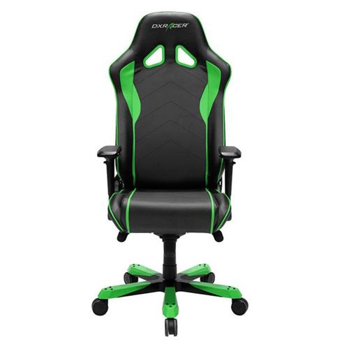 DXRacer Sentinel Series OH/SJ08/NE Black and Green Gaming Chair