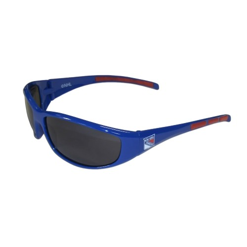 b4ac71d060 NHL New York Rangers Sports Team Logo 3 Dot Wrap Sunglass   Sunglasses - Best  Buy Canada