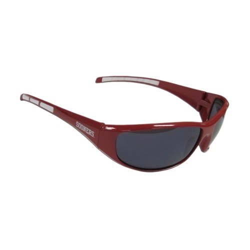 ea4bec67fb NCAA Oklahoma Sooners Sports Team Logo 3 Dot Wrap Sunglass   Sunglasses - Best  Buy Canada