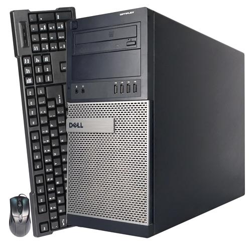 Dell 990 Tower Intel Core i7 2600 3.4Ghz,16G DDR3,Storage: 2TB HDD,DVD ROM,Windows 10 Pro,1 Year Warranty-Refurbished