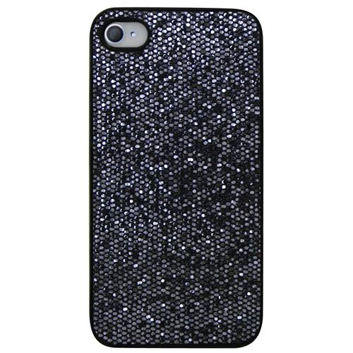 Exian iPhone 4/4S Hard Plastic Case Sparkling Grey
