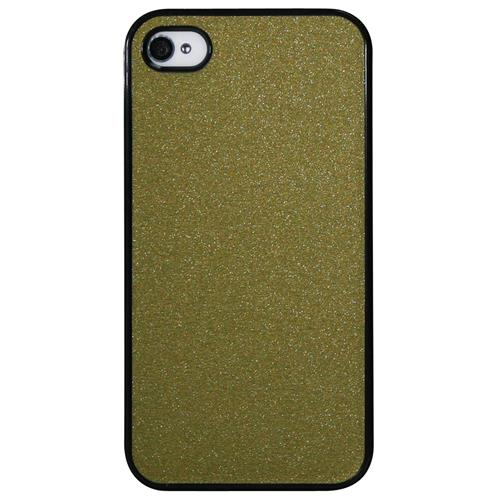 Exian Fitted Hard Shell Case for iPhone 4S;iPhone 4 - Gold