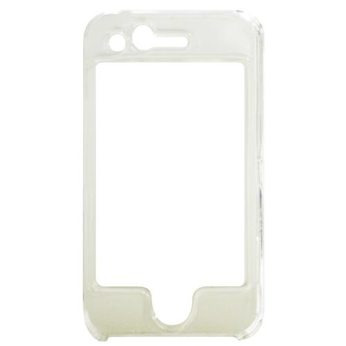 Exian iPhone 3G/3GS Hard Plastic Case with Front Cover Transparent Clear