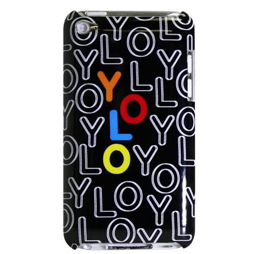 Exian iPod Touch 4 Hard Plastic Case Exian Design YOLO