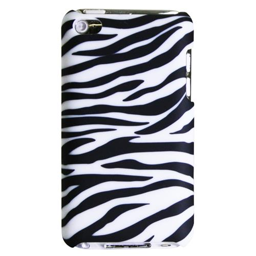 Exian iPod Touch 4 Hard Plastic Case Zebra Pattern