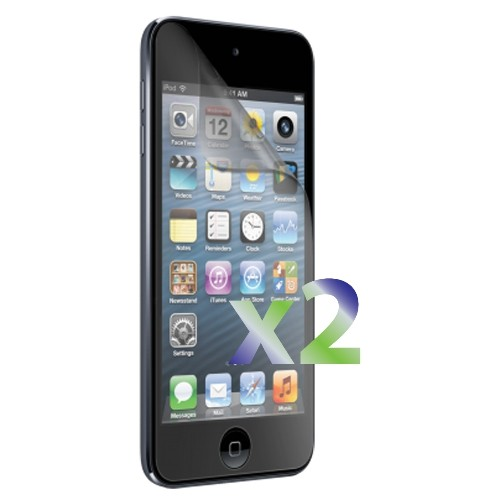 Exian iPod Touch 5/6 Screen Protectors X 2 Anti-Glare