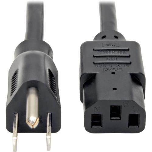 Tripp Lite Standard Computer Power Cord, 5-Pack