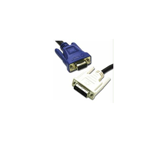 C2G 5m DVI Male to HD15 VGA Male Video Cable (16.4ft)