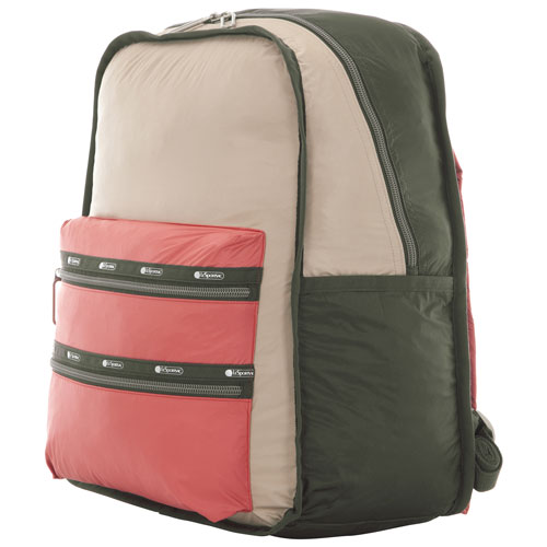 """LeSportsac Essential 13"""" Laptop Day Backpack - Coral Gables"""