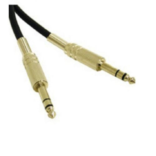 C2G 50ft Pro-Audio 1/4in TRS Male to 1/4in TRS Male Cable