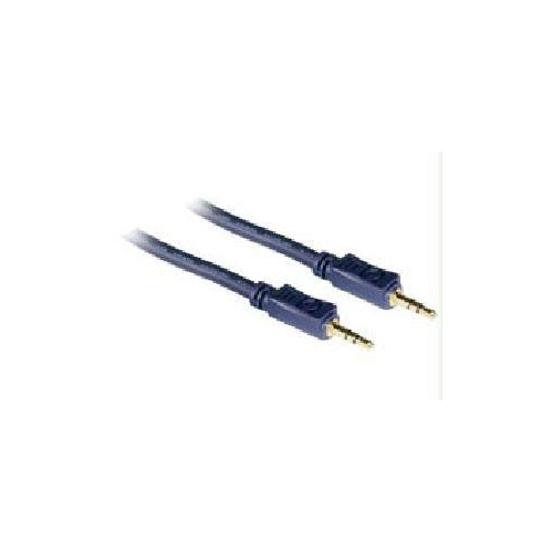 C2G 1.5ft Velocity 3.5mm M/M Stereo Audio Cable