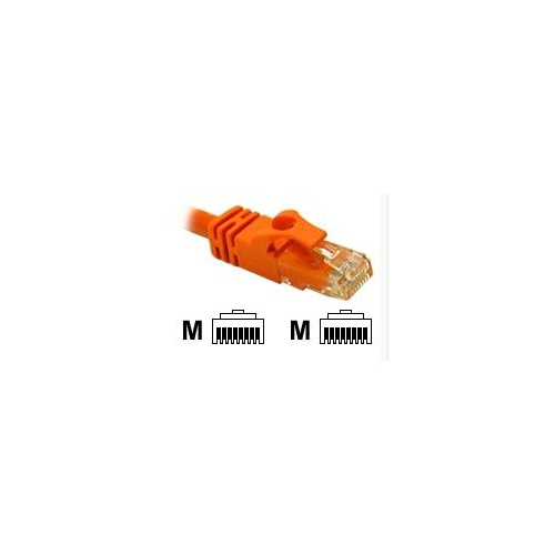 25ft CAT6 Snagless Patch Cable Orange