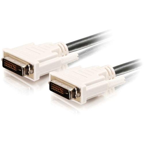 C2G 0.5m DVI-D M/M Dual Link Digital Video Cable (1.6ft)
