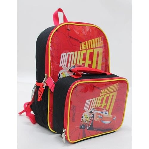 ff9bac59020d Disney Pixar Cars Lightning Exclusive Designed Kids Backpack with  Detachable Insulated Lunch Kit   Backpacks - Best Buy Canada