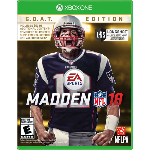Madden NFL 18: G.O.A.T. Edition (Xbox One)