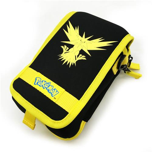 Hori Legendary Pokemon Travel Pouch Case For New 3DS XL, Zapdos Yellow