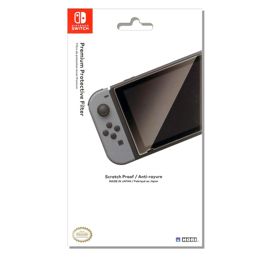 Hori Officially Licensed Premium Screen Protector Filter for Nintendo Switch