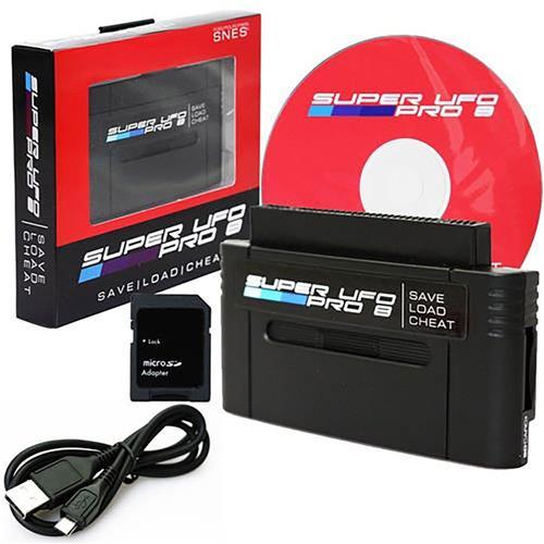 UFO Super UFO Pro 8 SNES Game Saves & Backup Cartridge Adapter