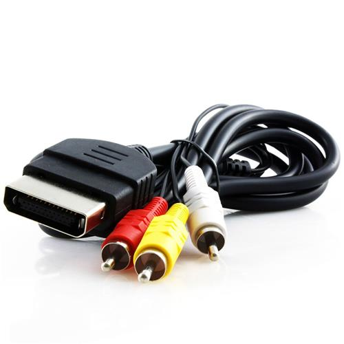 KMD 6 Feet AV Composite Cable For Microsoft Xbox