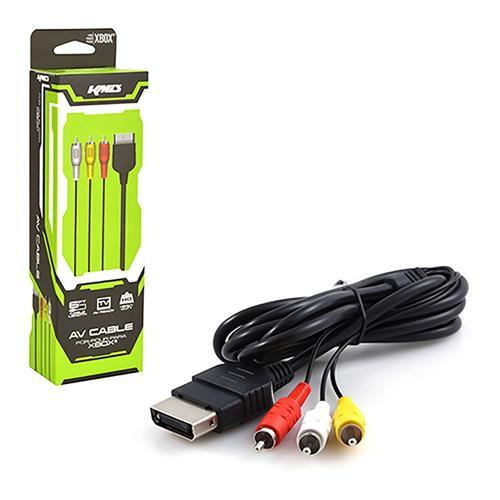 KMD Av Composite Cable - Xbox (2121923) - Black