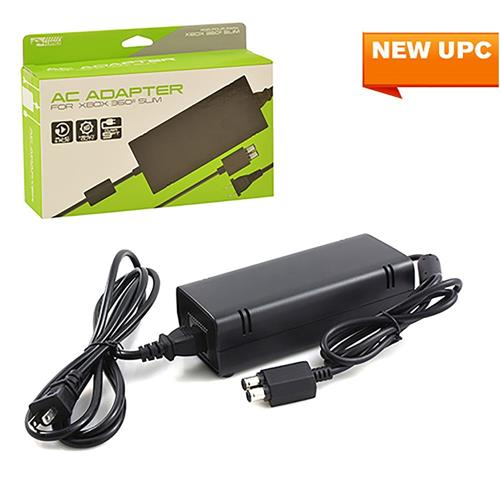 KMD 9 Feet AC Power Adapter For Microsoft Xbox 360 Slim