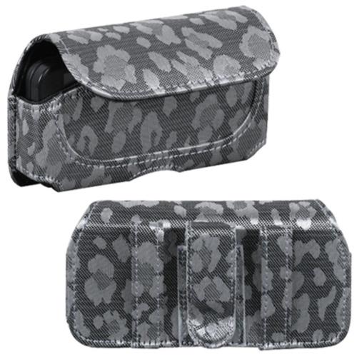 Insten Horizontal Pouch (723503)(Silver & Gray Watermark) For Samsung M850 (Instinct HD)/ HTC G1