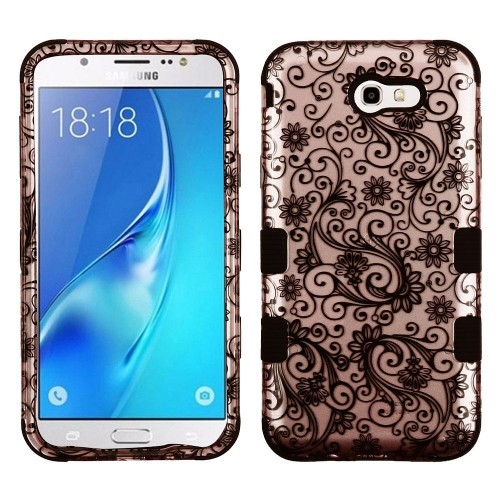 Insten Fitted Hard Shell Case for Samsung Galaxy J7;J7 - Black;Sky