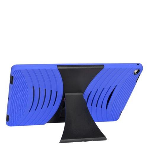 """Insten Silicone Hybrid Rubber Hard Case w/stand For Apple iPad Pro 12.9"""" - Blue/Black"""