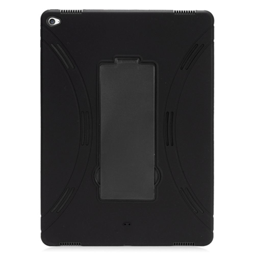 "Insten Skin Hybrid Rubber Hard Case w/stand For Apple iPad Pro 12.9"" - Black"