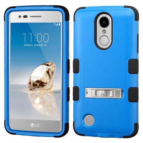 Insten For LG Aristo/Fortune/K8 (2017)/LV3/Phoenix 3 Stand Case Natural Dark Blue/Black